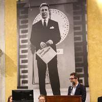 Da Mike a Corrado protagonisti di un museo della tv a Milano, la vedova