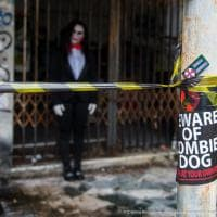 Halloween, anteprima nella città fantasma: Consonno invasa dagli zombie