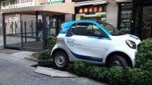 """Car sharing, si costituisce il parcheggiatore folle """"E' stato un incidente!"""""""