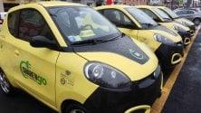 Car sharing, la prima stazione di ricarica elettrica al supermarket