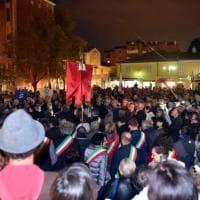 """Corsico, in centinaia con don Ciotti: """"Essere qui è un dovere contro la 'ndrangheta"""""""