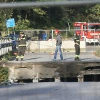 Cavalcavia crollato, è stata riaperta la Statale 36 tra Milano e Lecco