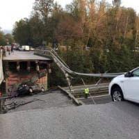 Cavalcavia crollato, l'Anas striglia i Comuni: nuovi limiti di peso sui ponti
