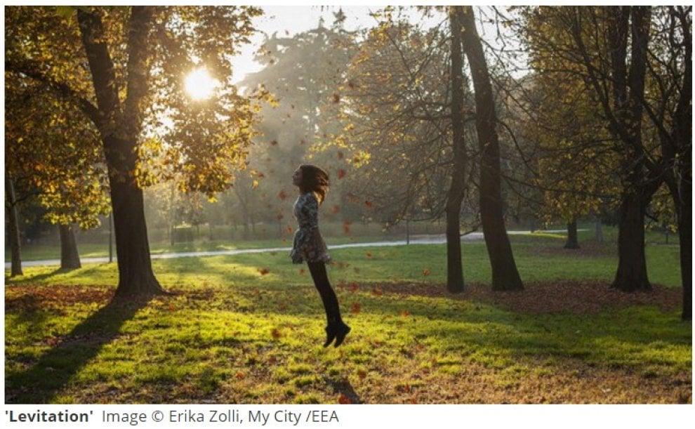 L'Ue premia fotografa milanese: il suo parco Sempione d'autunno conquista l'Europa