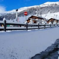 Cartoline da Livigno, dopo le prime nevicate il paesaggio è da fiaba