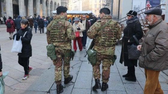 Milano, più militari in città: a fine mese ne arrivano cento