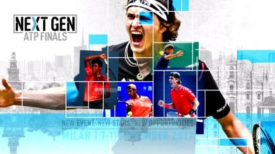 Milano, torna il grande tennis: dal 2017 il torneo Atp under 21 con i migliori otto del mondo