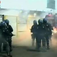 Bergamo, tensione tra tifosi e polizia al termine di Atalanta-Roma: 5 feriti