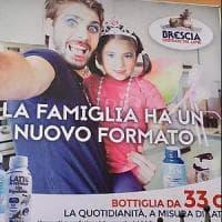 Brescia, la pubblicità del latte diventa un caso: