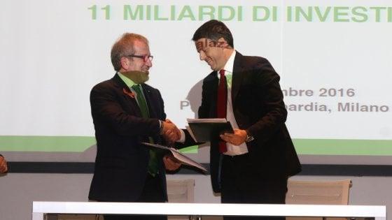 Post Expo, Renzi firma il Patto per la Lombardia: in arrivo 380 milioni per il campus universitario