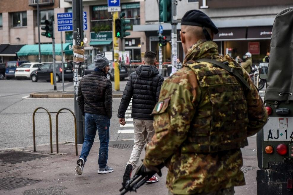 Milano, i nuovi militari già schierati: i presidi nelle zone a rischio