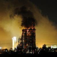 Incendio nella raffineria del Pavese, Eni: