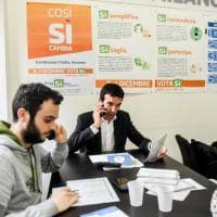 Referendum, nel call center dei volontari Pd anche il ministro chiama a casa gli indecisi