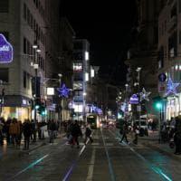Baci di cioccolato diventano luminarie in via Torino