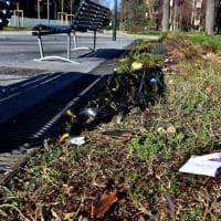 Milano, piazzale Segesta invaso dai rifiuti