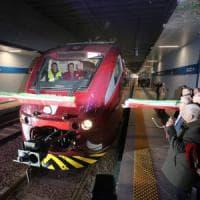 Rivoluzione nell'aeroporto di Malpensa, inaugurato il trenino che collega