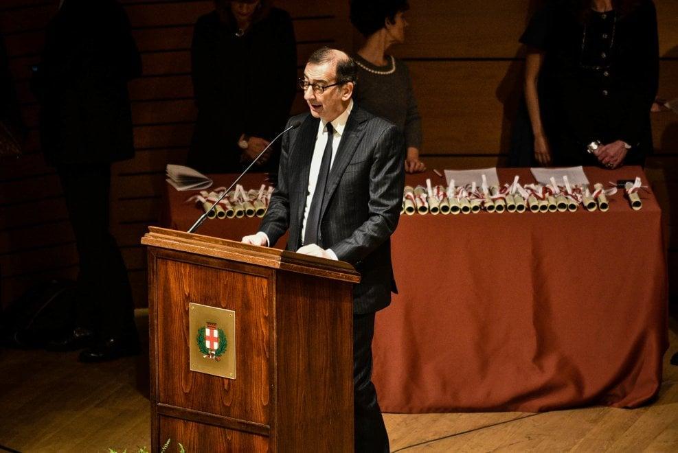 Milano, la cerimonia di consegna degli Ambrogini d'oro
