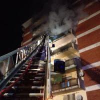 Bergamo, incendio in un condominio: la causa è un fornello acceso