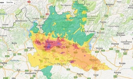 "Smog, Pm10 sopra i limiti: a Milano ""l'aria è scadente"", divieti in arrivo"