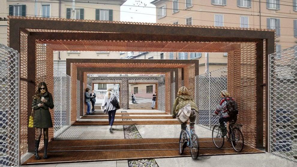 Milano, ecco il 'ponte di ferro bis': la passerella pedonale ricucirà zona Tortona ai Navigli