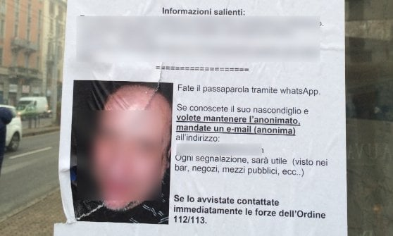"""""""Attenzione pedofilo, sei braccato"""": shock a Milano per il volantino stile gogna pubblica"""