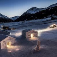 Livigno, esperienze ad alta quota: la suite e il bar di neve