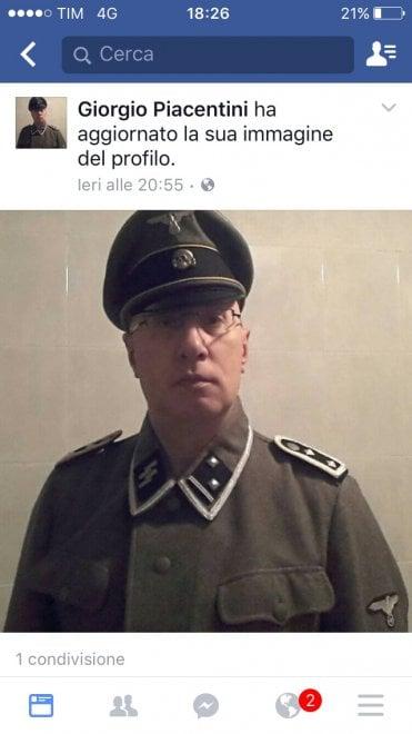 Biassono, selfie con la divisa delle Ss. Polemica sul comandante dei vigili