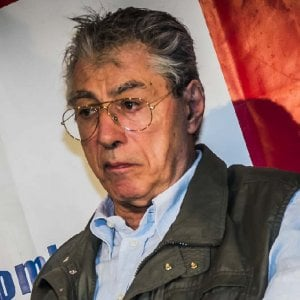 """Bossi, diede del """"terùn"""" a Napolitano: pena ridotta in appello, un anno per vilipendio"""