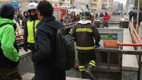 Milano stop di due ore per il metr verde interrotta la - Milano porta genova treni ...
