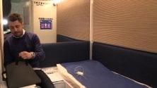 Capsule hi-tech per riposare a Malpensa: letto, wi-fi, cromoterapia