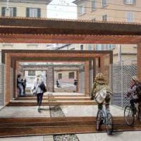 Porta Genova, il gelo frena il cantiere: slitta l'apertura della passerella. I commercianti: