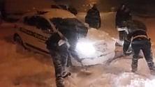 Terremoto e neve, su  Whatsapp il diario  dei vigili ad Amatrice