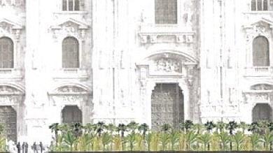Starbucks sbarca a Milano, come primo  atto firma il giardino di piazza Duomo