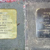 Giornata della Memoria, la pietra d'inciampo vandalizzata a Milano