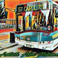 Milano, le immagini stile impressionista scattate dagli autisti Atm