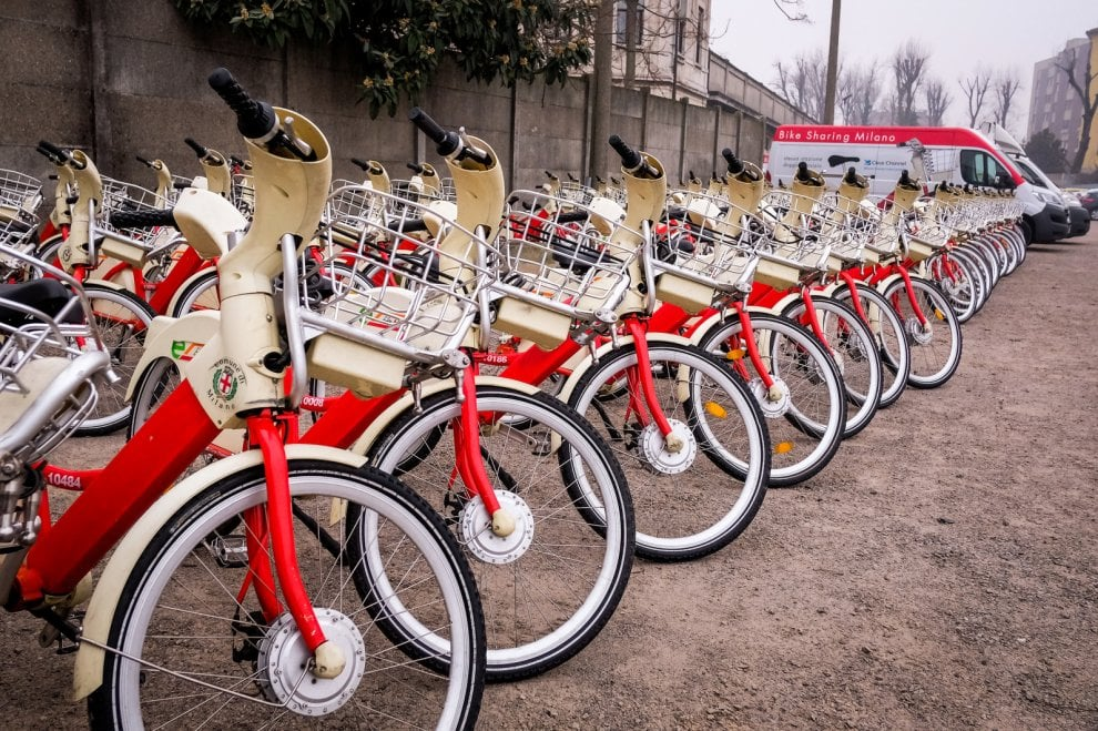 Milano la clinica ecologica del bike sharing 1 di 1 for Mobile milano bike sharing