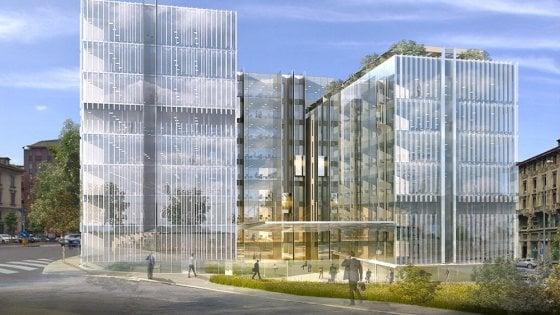 Milano nasce la cittadella amazon in porta nuova vetro e - Amazon porta nuova ...