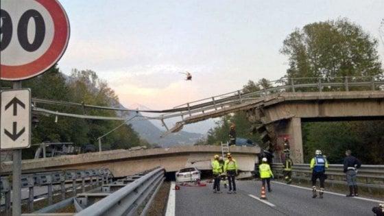 Lecco, camion danneggia cavalcavia: dopo mesi ancora fermi i lavori sul ponte crollato