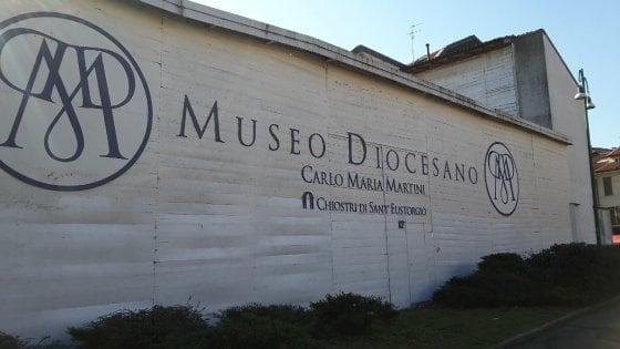 """Milano, Scola contro i vandali del museo Diocesiano: """"Non è arte ma vandalismo, è ora di farla finita"""""""