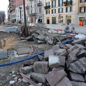 Milano al via la seconda fase dei lavori per la m4 in piazza tricolore possibili disagi per la - Spostamento cavi telecom dalla facciata di casa ...
