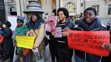 Ft  Ius soli, un flash mob per chiedere la riforma della legge sulla cittadinanza