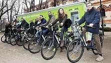 Bici elettriche  in regalo ai cittadini  più ecologici