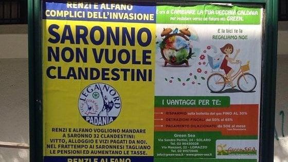 """Lega Nord condannata a Milano per discriminazione: """"I profughi non sono clandestini"""""""