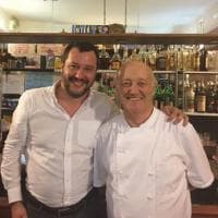 Ladro ucciso a Lodi, anche Salvini a cena dal ristoratore: