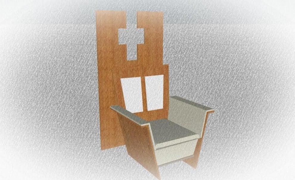 Papa a Milano, sobrio, in legno e microfibra: ecco come sarà il 'trono' artigianale per la messa