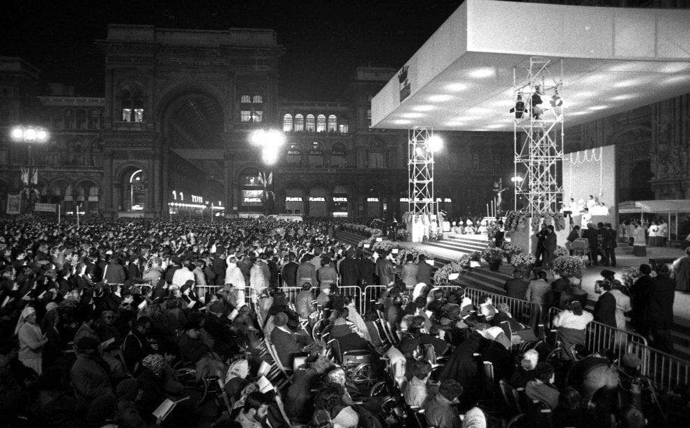 Milano, le due visite di papa Wojtyla negli anni Ottanta: dal Duomo al Gallaratese