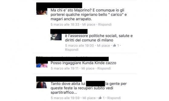 """Profughi a Milano, dopo le minacce contro l'assessore arriva la carica degli hater: """"Facciamogli la festa"""""""