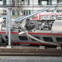 Eurocity Milano-Basilea deraglia vicino alla stazione di Lucerna: ci sono feriti