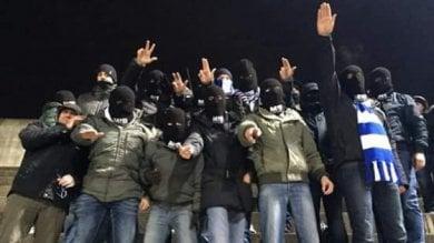 """Busto Arsizio, saluto fascista allo stadio Dopo il Daspo, consigliere ultrà del Pdl  a processo. """"Discriminazione razziale"""""""