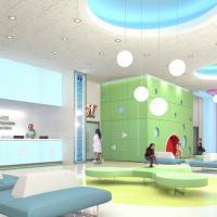 Milano, ecco il nuovo Buzzi: pareti interattive e un giardino terapeutico per i piccoli pazienti